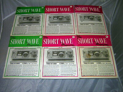 £12.99 • Buy The Short Wave Magazine,6 Issues January To June 1980