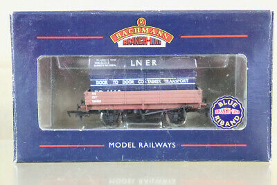 £17.50 • Buy BACHMANN 37-929 NE 3 PLANK WAGON 535962 & LNER BLUE CONTAINER LOAD BOXED Nz