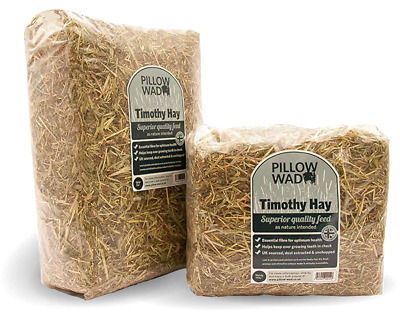 £13.99 • Buy Pillow Wad Timothy Hay - Rich In Fibre Essential For The Digestive System