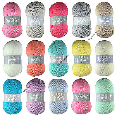 Pato Baby Dk Wool/yarn 100g Ball, Double Knit - NEW LINE!!! • 1.10£