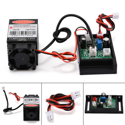 £18.78 • Buy Focusable 500mW 808nm Infrared Laser Diode Dot Module & TTL Fan Cooling Stock