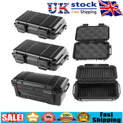 £7.09 • Buy Shockproof Sealed Waterproof Safety Case ABS Plastic Tool Dry Box Container UK