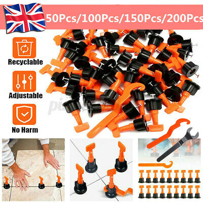 £12.29 • Buy 200Pcs Floor Wall Tile Levelling System Leveler Tools Kits Reusable Construction