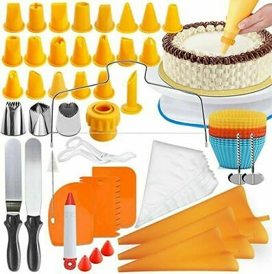 £15.99 • Buy FRSWAY Cake Decorating Kits Supplies With Cake Turntable, 25 Numbered Cake...