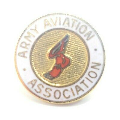 $4.89 • Buy Army Aviation Association 24K GP Gold Plated Tie Tacks Lapel Hat Pin Military