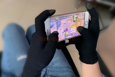 AU15.09 • Buy 2X Mobile Finger Sleeve Touch Screen Game-Controller Sweatproof Gaming Gloves