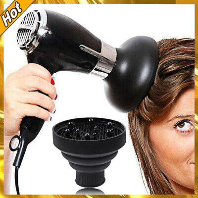 AU15.95 • Buy Silicone Hair Dryer NEW Universal Salon Travel Foldable Diffuser Professional