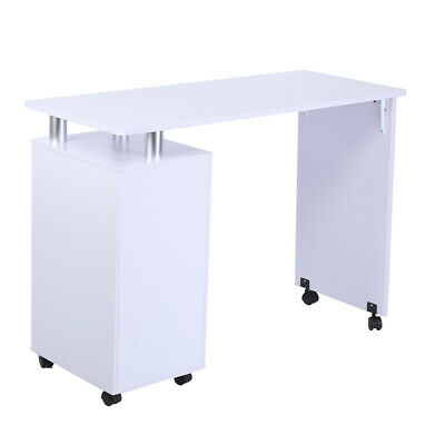 £166.98 • Buy Portable Manicure Nail Table Beauty Sturdy Nail Table With 4 Drawers 109*45*78cm