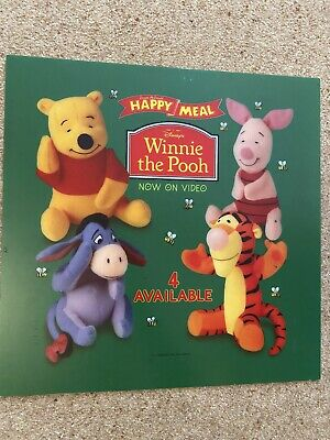£14.95 • Buy McDonalds Winnie The Pooh Translite Very Rare. Others Available Too.