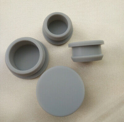 $ CDN3.16 • Buy 2.5-14mm Gray Snap-on Hole Plugs Silicone Rubber Blanking End Caps Seal Stopper