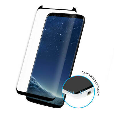 $ CDN3.42 • Buy For Samsung Galaxy S9 Plus Full Curved 3D Tempered Glass Screen Protector -Black