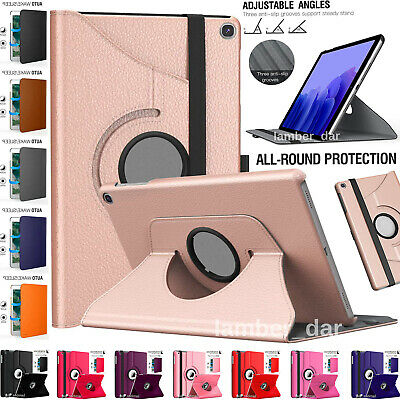 $ CDN10.37 • Buy 360 Rotate Smart Stand Case Cover For Samsung Galaxy Tab A7 10.4 S6 Lite A 10.1