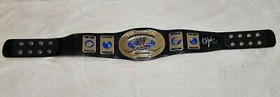£200 • Buy WWE Intercontinental Championship Signed By Chris Jericho + Plate Replica Title