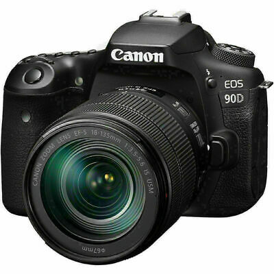 AU1822 • Buy New Canon EOS 90D DSLR Camera With 18-135mm Lens