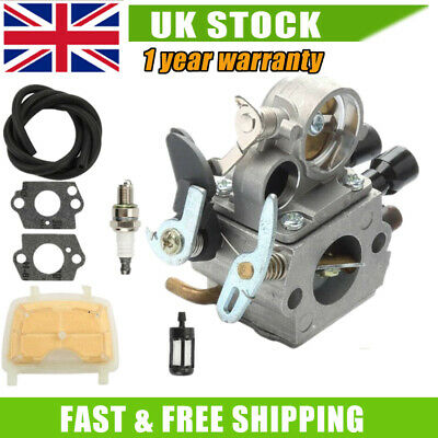 £15.99 • Buy Carburetor Carb For Stihl Chainsaw MS171 MS181 MS211 Carburettor 1139 120 0612