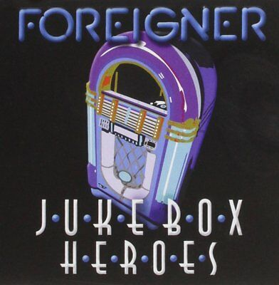Foreigner Juke Box Heroes CD NEW SEALED 2012 New Digital Recordings Of Hits • 4.99£