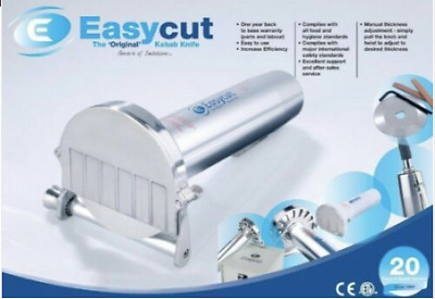 EasyCut Stainless Steel Electric Doner Kebab Slicer/Cutter - FULL BOX • 199£