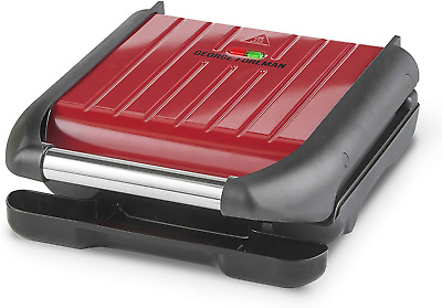 £39.23 • Buy George Foreman 25040 5 Portion Family Cooking Grill - Non-Stick Easy Clean - Red