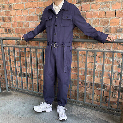 $38.63 • Buy Men's Long Sleeve Jumpsuits Cargo Workwear Casual Romper Overalls New Fashion