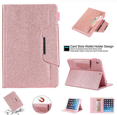 £15.99 • Buy Sparkly Bling Case Smart PU Leather Stand Cover For IPad 5th 6th 9.7 7th 10.2