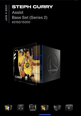 $150 • Buy Steph Curry NBA Top Shot NFT Moment #2193/15000 Series 2 LE 🔥🔥🔥