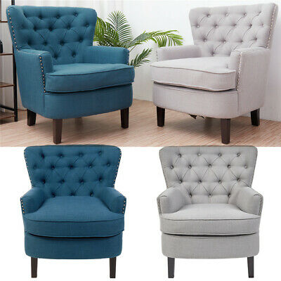 Wing Back Accent Seat Armchair Sofa Lounge Cinema Chair Modern Home Furniture • 229.99£