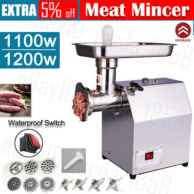 AU199.88 • Buy Commercial Meat Grinder Sausage Filler Electric Mincer Maker Chopper Shredder OZ