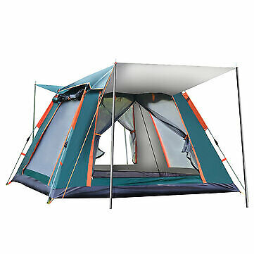 AU141 • Buy Outdoor Automatic Tent 4 Person Family Tent Traveling Camping Tent