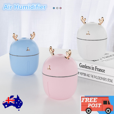 AU13.49 • Buy LED 3In1 USB Ultrasonic Air Humidifier Essential Oil Aroma Diffuser Aromatherapy