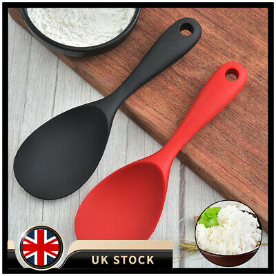 £4.82 • Buy 1/2XRice Spoon Food Grade Silicone Heat-resistant Non-stick Cooking Tool Kitchen