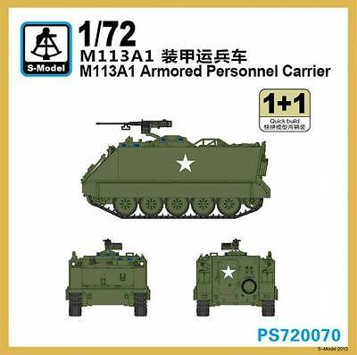$14.99 • Buy S-Model PS720070 1/72 M113A1 Armored Personnel Carrier (2 Kits)