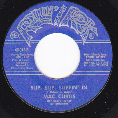 Rockabilly 45 - MAC CURTIS - Slip Slip Slippin' In / How Come It • 7.28£