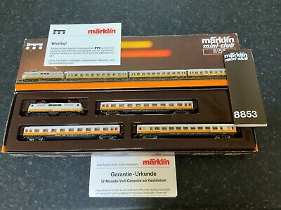 AU297.43 • Buy Marklin Spur Z Scale/gauge 'Lufthansa Express' Train Set. MHI.