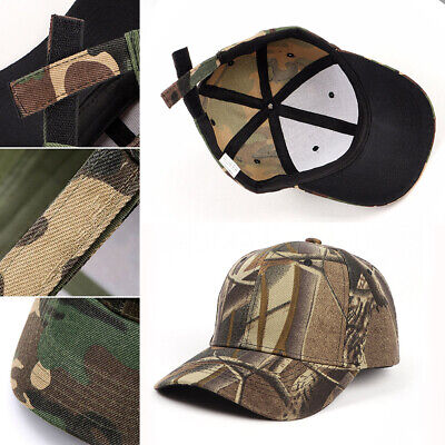 £5.33 • Buy Camo Cap Snapback Patch Trucker Military Baseball Cap Camouflage Urban Combat