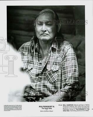 $ CDN24.04 • Buy 1986 Press Photo Actor Will Sampson In  Poltergeist II: The Other Side