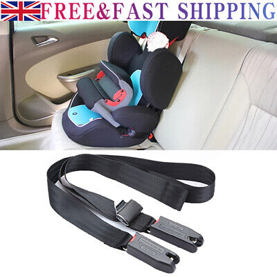 £11.59 • Buy Child Car Seat ISOFIX Latch Connector Kids Safe Fixed General Straps Belt Latch