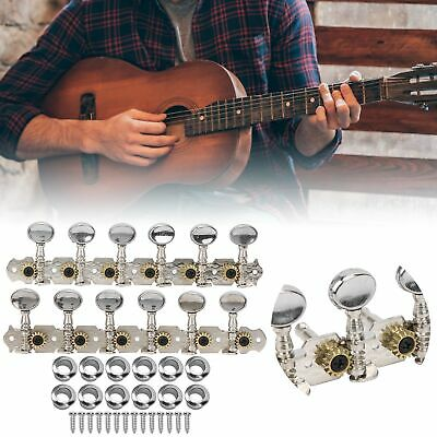 $ CDN17.78 • Buy 12 String Guitar Tuning Key Metal Machine Head Open Tuners Peg Durable Sturdy