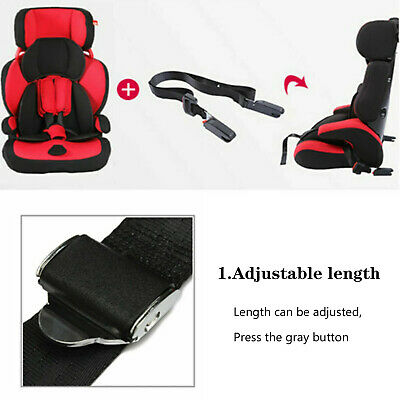 Child Kids Safe Car Seat Strap Kit Install Fixed Belt Connector Isofix Latch UK • 10.55£