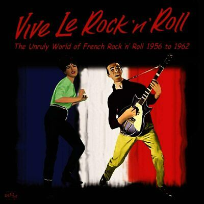 AU9 • Buy Vive Le Rock 'N' Roll-French 1956-62 CD NEW Vince Taylor/Johnny Hallyday+