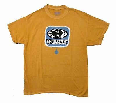$ CDN42.45 • Buy Wu Wear Wu Tang Clan Drop Goldenrod Yellow T Shirt New Official