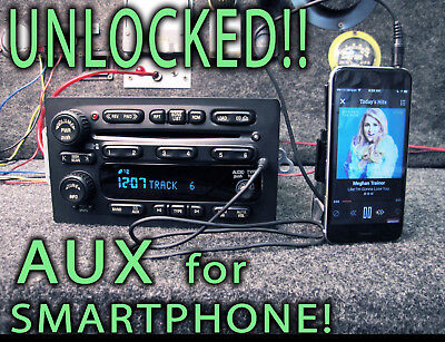 $350 • Buy Chevy BOSE GMC GM 2004 2005 2006 Truck Radio 6 CD Player Aux Mp3 Input 15196055