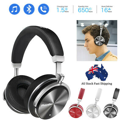 AU18.99 • Buy 2021 Wireless Bluedio T4 Bluetooth V4.2 Headphones  Noise Cancelling Stereo