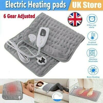 £18.98 • Buy Therapeutic Electric Heat Pad Soothing Muscle Tension Back Neck Pain Relief