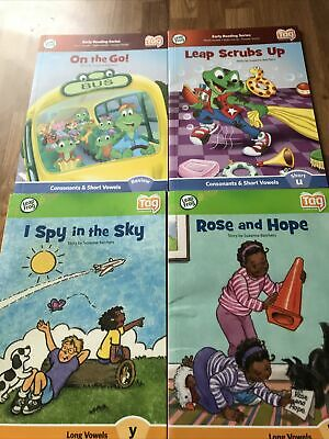 £7.50 • Buy Leapfrog Early Reading / Tag Reading  - 4 Books Only