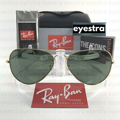 AU99.99 • Buy Ray-Ban RB3025 AVIATOR CLASSIC 58mm Gold
