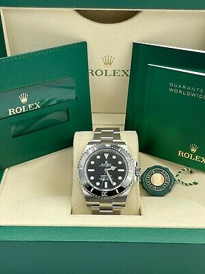 $ CDN15740.63 • Buy Rolex 2021 Submariner 41mm No-Date Black Ceramic 124060 Dated 2021 New Card