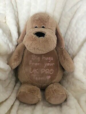 £22 • Buy Mumbles Zippie Dog Personalised & Embroidered Soft Cuddly Toy Teddy Bear