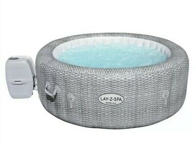 Lay-Z-Spa Honolulu 6 Person LED Lights Inflatable Hot Tub NEW 2021 🚚 Free P&P • 749.99£