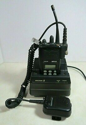 $29.99 • Buy M/A-Com Ericsson Harris LPE-200 800 MHz Radio H9P86X W/ Charger & Microphone