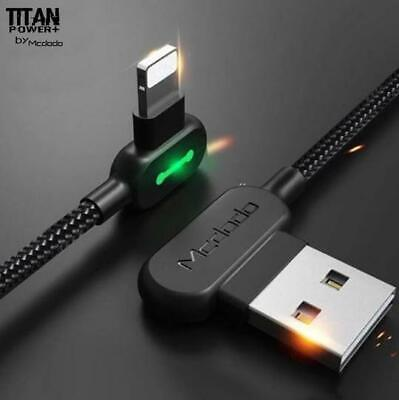 AU15.99 • Buy TITAN POWER+LED Fast Smart Charging Data Sync Cable For Type-C IPhone 12 X SE 6
